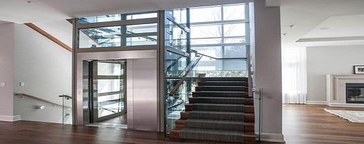 نصب آسانسور لوکس شیشه ای