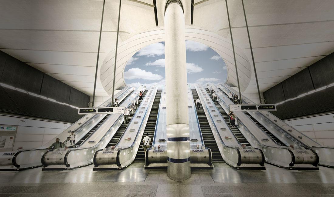 اجرا و پیاده سازی پله برقی های مدرن